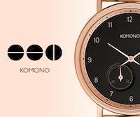 Komono ベルギー・アントワープ発のアクセサリー・ブランド